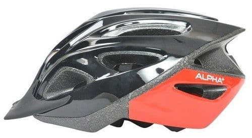 Alpha Plus Shadow Adults Cycle Helmet, Various Colours & Sizes Available