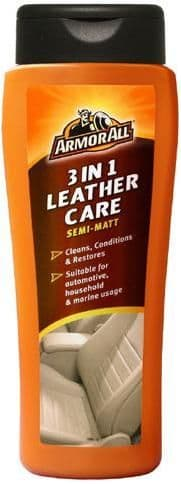 Armor All 3 In 1 Leather Care Semi-Matt, Cleans & Conditions 250ml. 13250EN