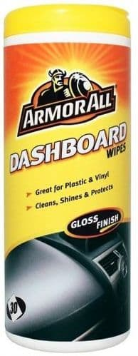 Armor All Gloss Finish Dashboard Wipes 30 Pack 36030EN