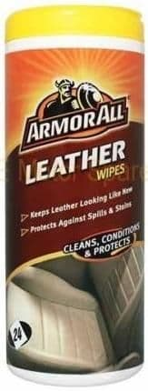 Armor All Leather Wipes, 24 Pack, 39024EN