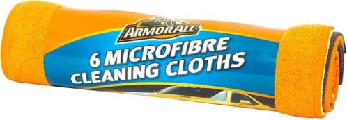 Armor All Microfibre Cleaning Cloths 6 Pack 40010EN