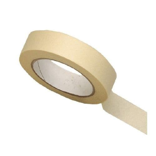 Automotive Masking Tape 50 Metre Roll, 25mm Or 50mm Wide