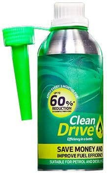 Clean Drive, Up To 60% Reduction In Harmfull Emissions For Petrol & Diesel Engines. 475ml.