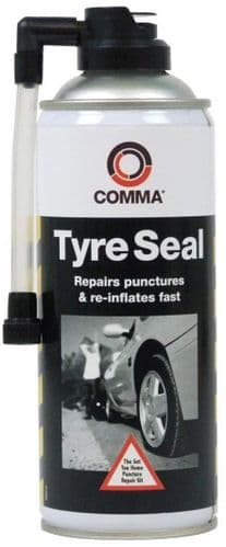 Comma Tyre Seal Emergency Puncture Repair. 400ml. TS400M