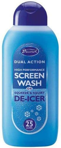 Decosol Dual Action High Performance Screen Wash 500ml AD25FF