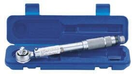 "Draper 3/8"" Square Drive 10 - 80 Nm Or 88.5 - 708 in-lb Ratchet Torque Wrench 34570"