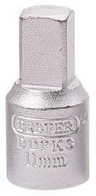 Draper 3/8 Square Drive Drain Plug Key. 8 Sizes Available