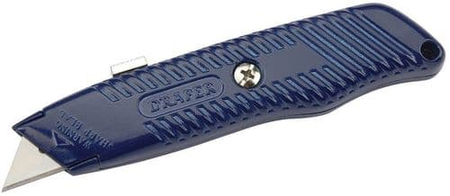 Draper Trimming Knife With Retractable Blade And Five Spare Blades. 11529