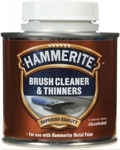 Hammerite Brush Cleaner & Thinners. 250ml.
