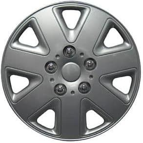 """Hurricane Wheel Trims, Modern Design Covers Available For 13"""", 14"""", 15"""" & 16"""" Wheels, Set Of 4"""
