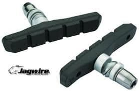 Jagwire Mountain Sport Brake Blocks. 70mm Threaded Offset Post, V-Brake, JBS007