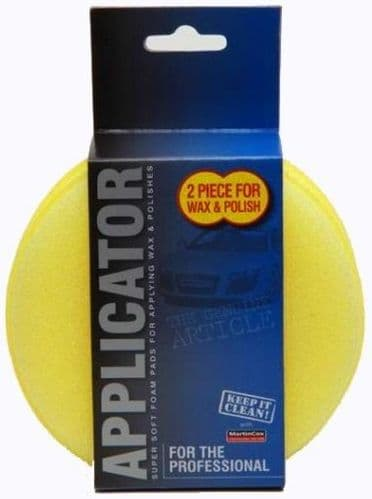 Martin Cox Foam Polish Applicator Twin Pack MOGG65