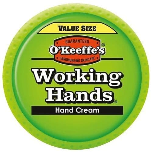O'Keeffe's Working Hand Cream 193g Value Size For Extremely Dry, Cracked Hands