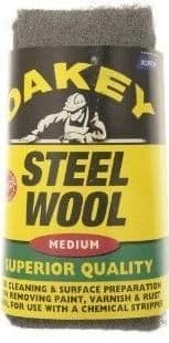 Oakey Steel Wool 200g. 4 Grades Available