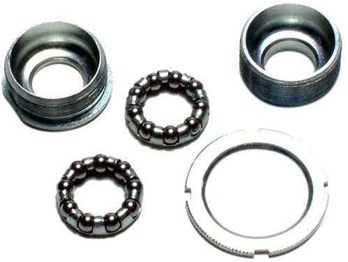 Oxford 24TPI Bottom Bracket, Steel Cups With Lock Ring. BB181
