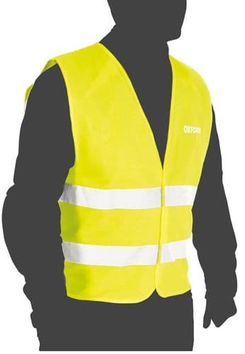 Oxford Adults High Visibility Vest Provides Maximum Visibility In An Emergency. 2 Sizes Available