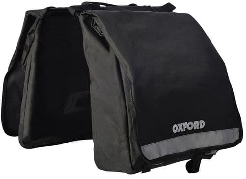Oxford C20 Double Pannier Bag Set With Reflective Areas OL918