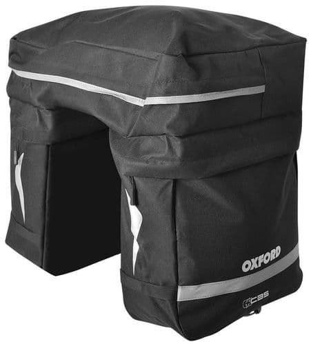 Oxford C35 Triple Pannier Bag Set With Reflective Areas OL919