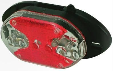 Oxford Carrier Mount 5 LED Rear Cycle Light LD287