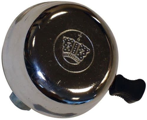 Oxford Crown Cycle Bell, Chrome Top BE150B