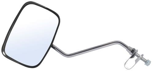 Oxford Fully Adjustable Oblong Bike Mirror With Rainshield. MR722