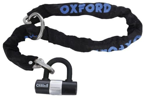 Oxford HD Heavy Duty Chain 8 & Padlock LK140
