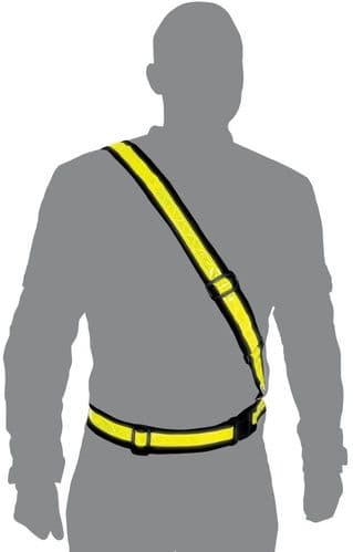 Oxford Reflective Bright Belt - Be Safe, Be Seen! 2 Sizes Available
