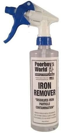 Poorboys Iron Fallout Remover Turns Red/Purple For Bodywork & Wheels Etc . 473ml. PB-IR16