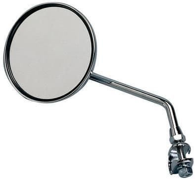 Raleigh Large Round Mirror With Chrome Case. AMA134