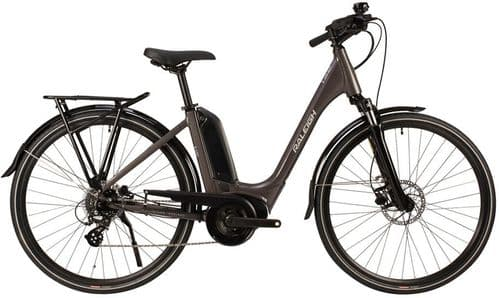 Raleigh Motus Bosch Powered Derailleur Low Step Electric Bike, Grey, 4 Sizes Available