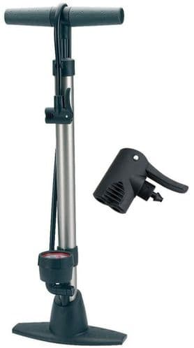 Raleigh Steel Floor Pump With Gauge, Ideal For Home Or Workshop Use. RMJ513