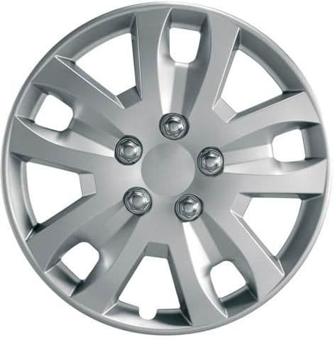 """Ring Gyro Wheel Trims, Modern Design Covers Available For 14"""", 15"""" & 16"""" Wheels, Set Of Four"""