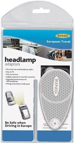 Ring Headlamp Beam Convertors. Safely Redirects Your Headlamp Beam. RCT1250