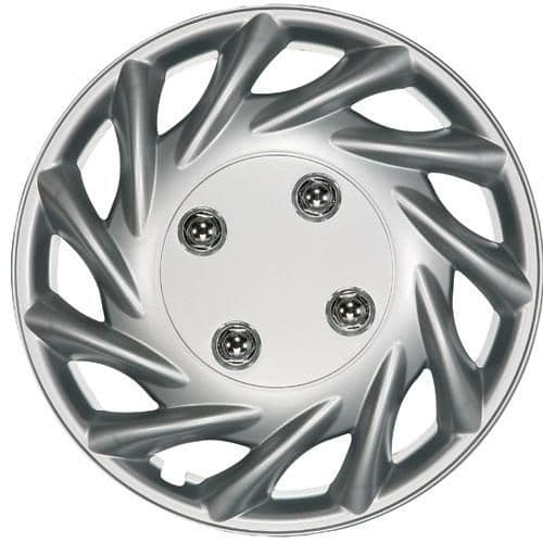 """Ring Vegas Wheel Trims, Modern Design Covers Available For 13"""", 14"""", 15"""" & 16"""" Wheels, Set Of Four"""