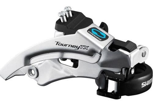 Shimano FD-TX800 Tourney TX Front Derailleur, Top Swing, Dual Pull, For 42/48T, 66-69.  FDTX800TSX6