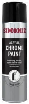 Simoniz Chrome Look Decorative Finish Spray Paint 500ml. SIMP20D