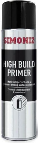 Simoniz High Build Primer, 500ml, SIMB90D