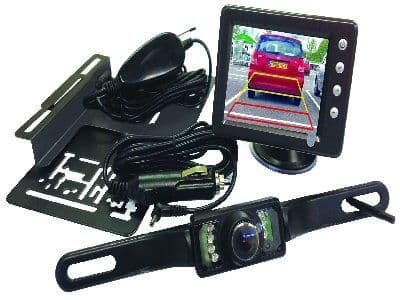 Streetwize 3.5in Reverse Camera Kit with LCD Colour Display. SWRC36