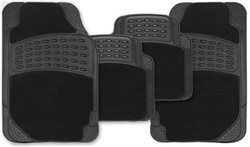 Streetwize Eclipse Universal Combination Car Mat Set. SWCM96