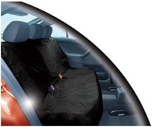 Streetwize Universal Car Heavy Duty Waterproof Nylon Rear Seat Protectors. Black Or Grey Available