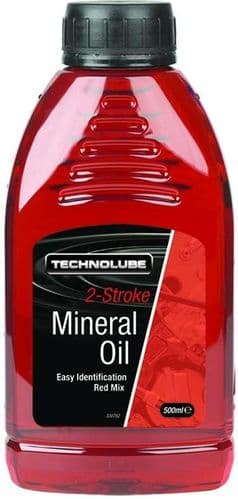 Technolube 2 Stroke Motorcycle Oil, 500ml & 1 Litre Sizes Available