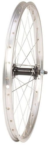 """Tru-build Wheels 20"""" Alloy Rim Silver, 28 Hole hub, Nutted Axle. Front & Rear Available"""