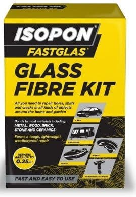 U-pol David's Fastglas Glass Fibre Kit. Repair Construct & Mould In Glass Fibre. 2 Sizes Available