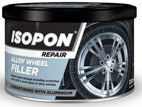 U-Pol David's Isopon Easy to Sand Smooth Alloy Wheel Repair Filler. 2 Sizes Available