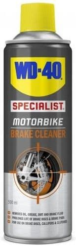 WD-40 Specialist Motorcycle Brake Cleaner. 500ml.