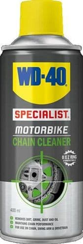 WD-40 Specialist Motorcycle Chain Cleaner. 400ml.