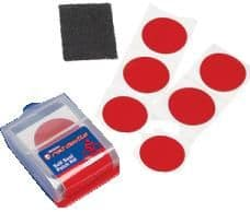 Weldite Red Devil Self Seal Pre-glued Patches, 6 Patches. 01023