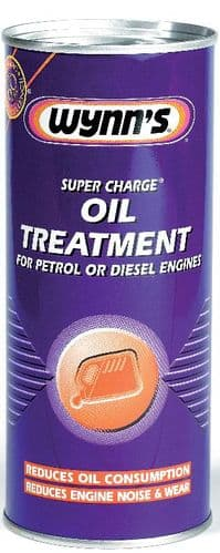 Wynn's Super Charge Oil Treatment For Petrol & Diesel Engines 425ml. 51364