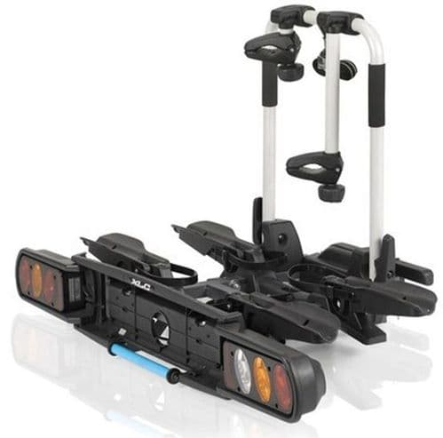XLC 2 Bike Towbar Mount Cycle Rack / Carrier. Suitable For Electric Bikes. 2503312000