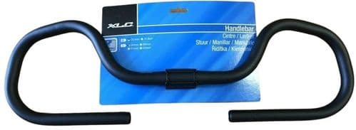 XLC Multi Position Trekking Alloy Handlebars, Black 25.4mm 2501500400